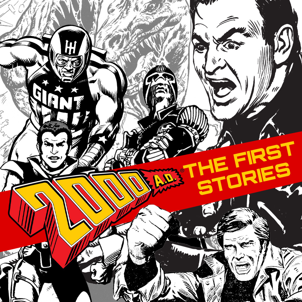 Happy birthday, 2000 AD – get the first stories in a digital bundle for just £20!