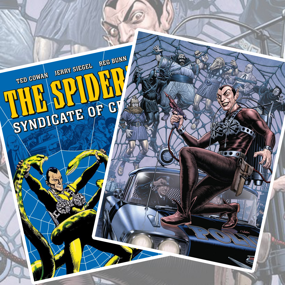 Pre-order the new collection of criminal mastermind The Spider!