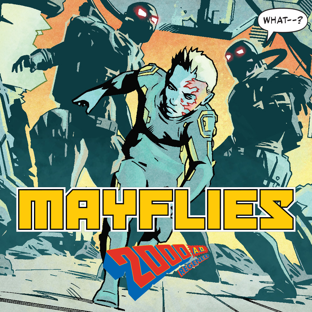 Interview: Regened heads to Nu-Earth in Mayflies by Mike Carroll & Simon Coleby