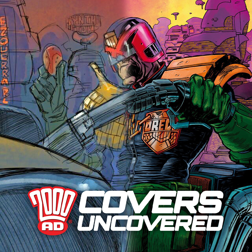 2000 AD Covers Uncovered – PJ Holden's Carlos cookie cover homage for 2000 AD Prog 2221