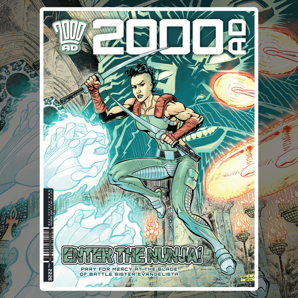 2000 AD Prog 2226 is out now!