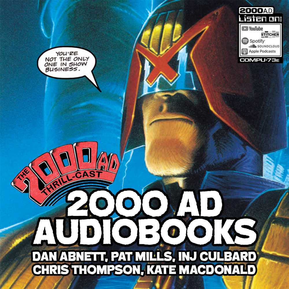 The 2000 AD Thrill-Cast Lockdown Tapes – 2000 AD Audiobooks