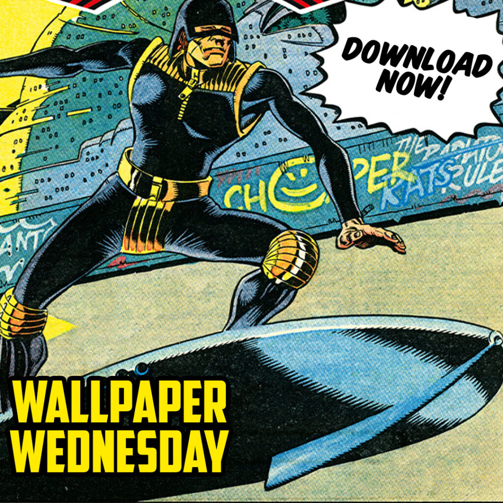 Download the new 2000 AD Wallpaper Wednesday now!