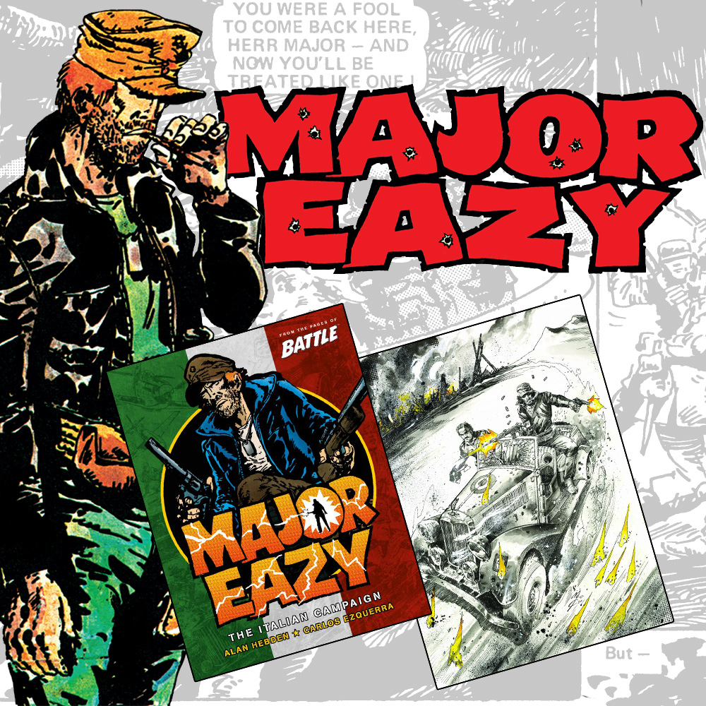 OUT NOW! – Major Eazy: The Italian Campaign