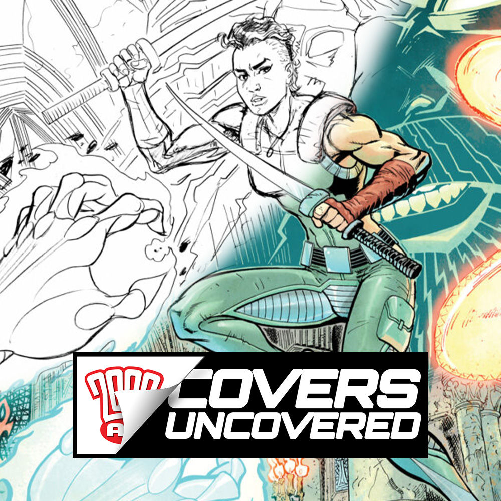 Covers Uncovered – Mike Collins' Nunja Leaps Into Action!