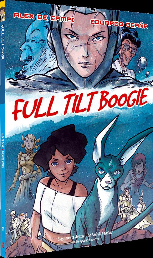 Full Tilt Boogie page cover