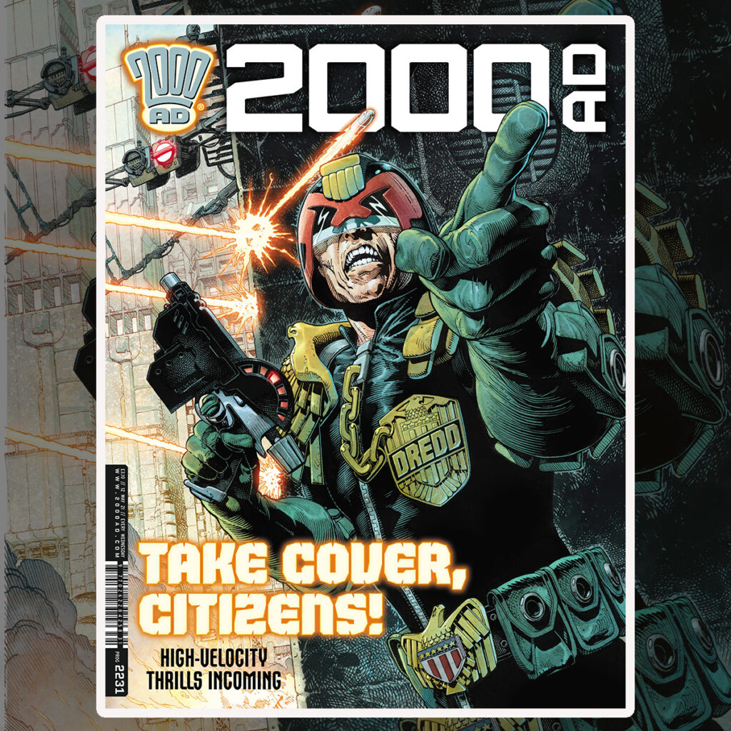 2000 AD Prog 2231 is out now!
