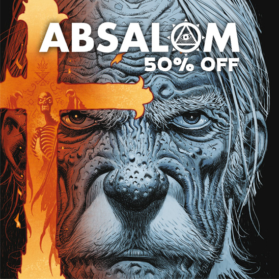 Get 50% off the entire 'Absalom' saga!