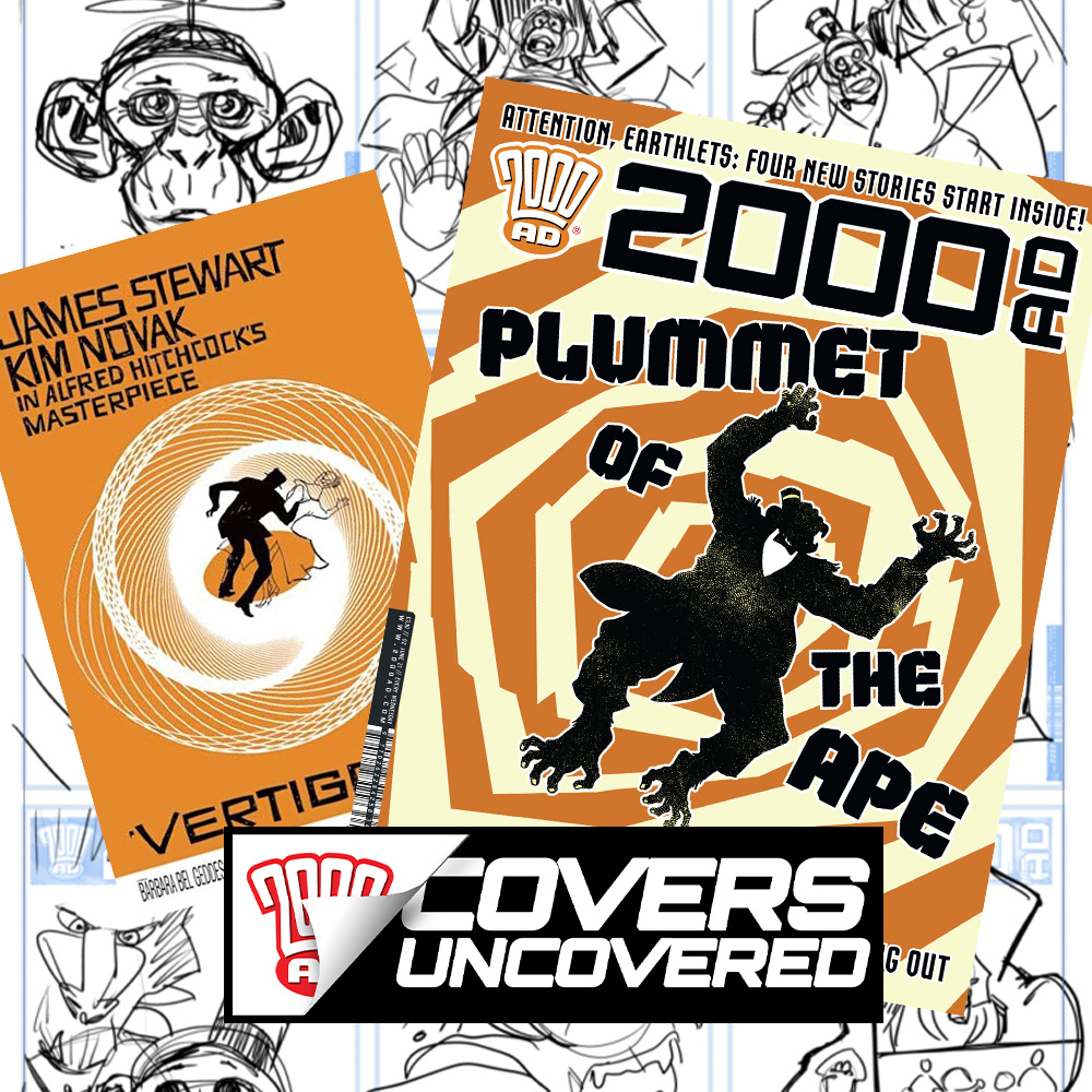 2000 AD Covers Uncovered – PJ Holden sends Chimpsky for a tumble with Prog 2234