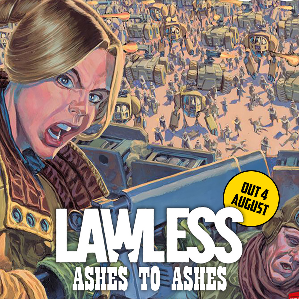 Badrock under siege – pre-order Lawless Vol.3