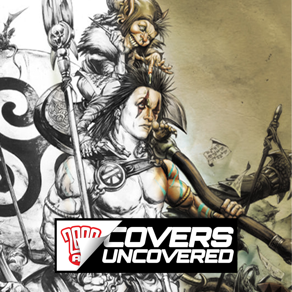 2000 AD Covers Uncovered – Leonardo Manco on the finale of Sláine: Dragontamer!