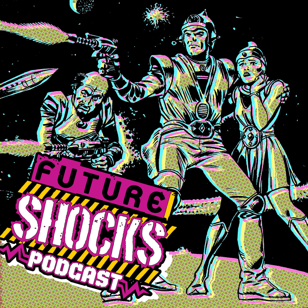 Listen to the latest episode of Future Shocks Radio – exclusive for 2000 AD subscribers!