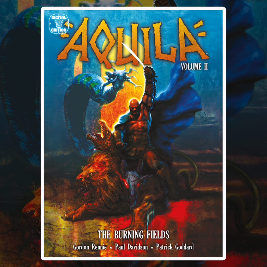 Preview: Aquila Volume II: The Burning Fields!