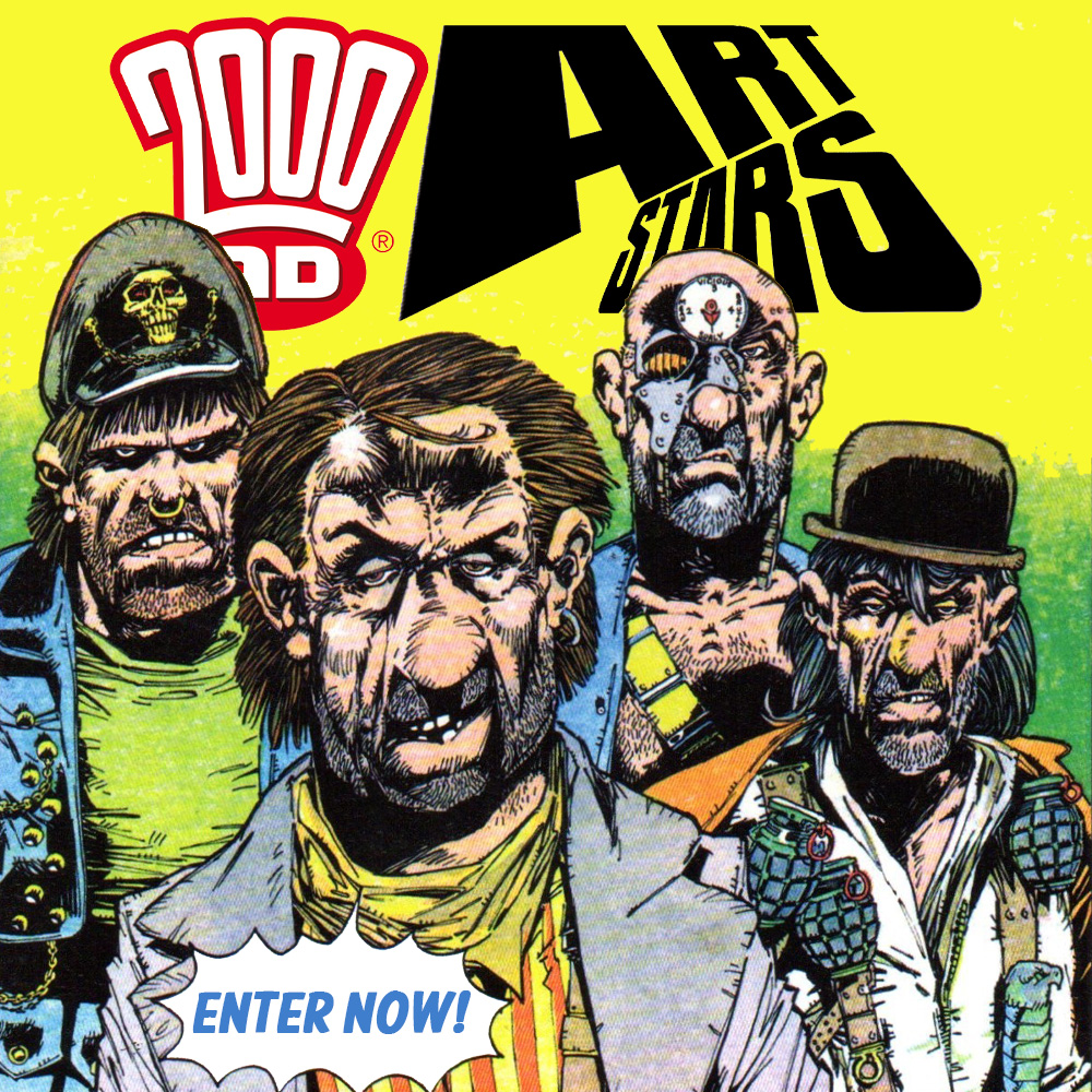 YOUR art could appear in 2000 AD – enter the Art Stars competition now!