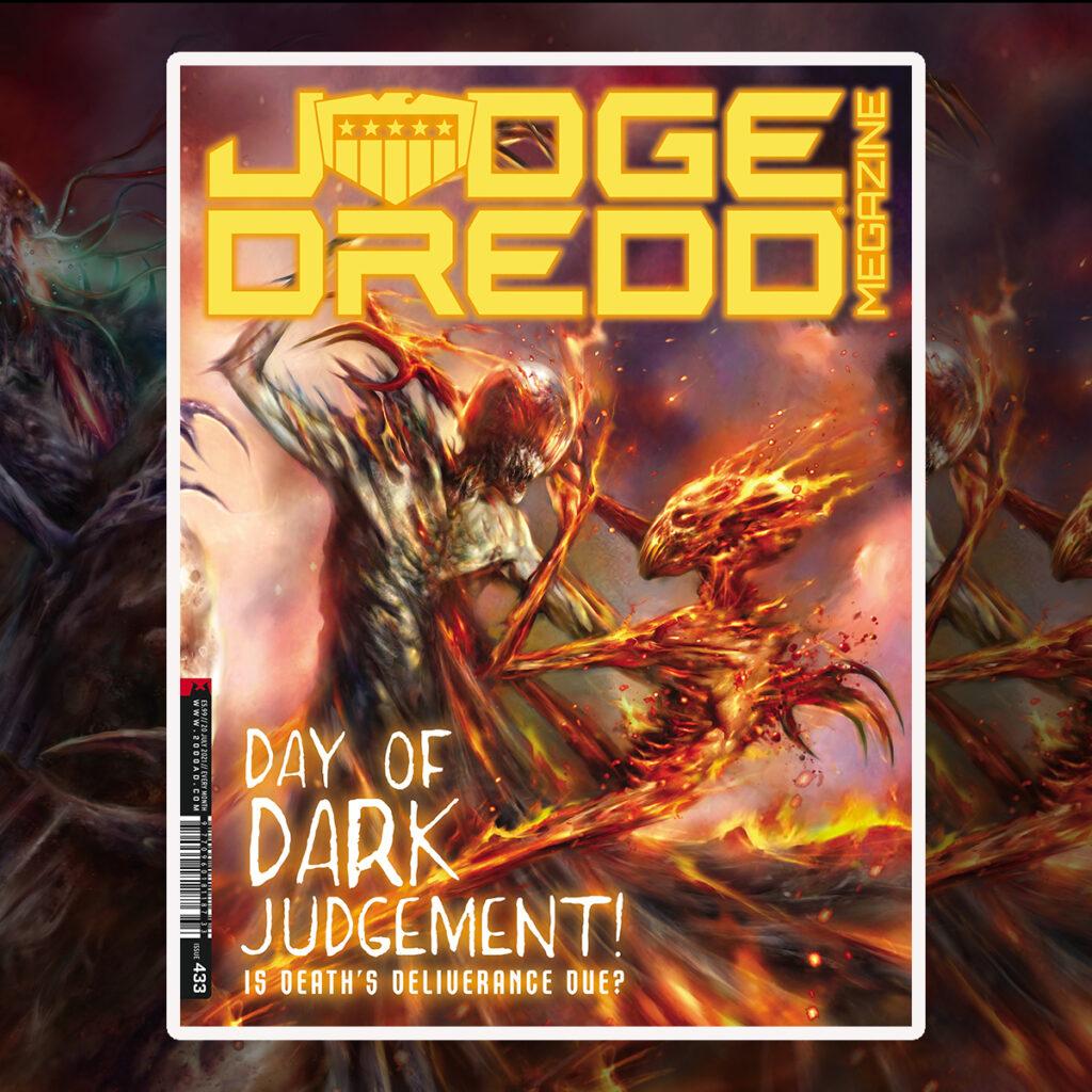 OUT NOW: Judge Dredd Megazine 433