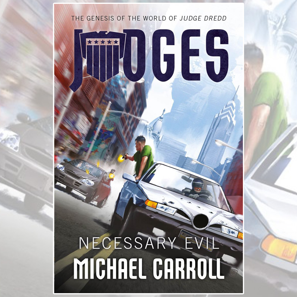 A routine stop, a gunshot, and the world changes – pre-order the new JUDGES novella
