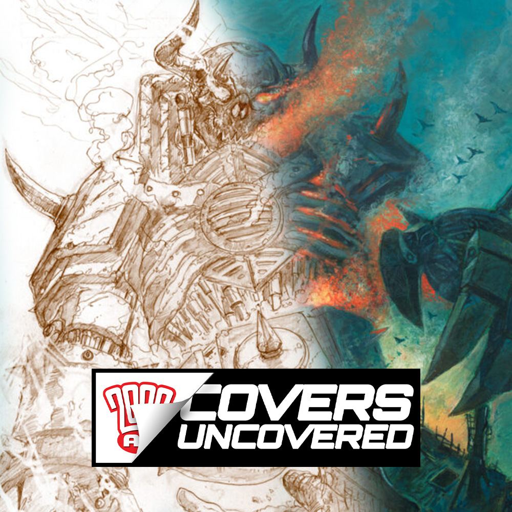 2000 AD Covers Uncovered – Dave Kendall – Mecha Goes Massive!