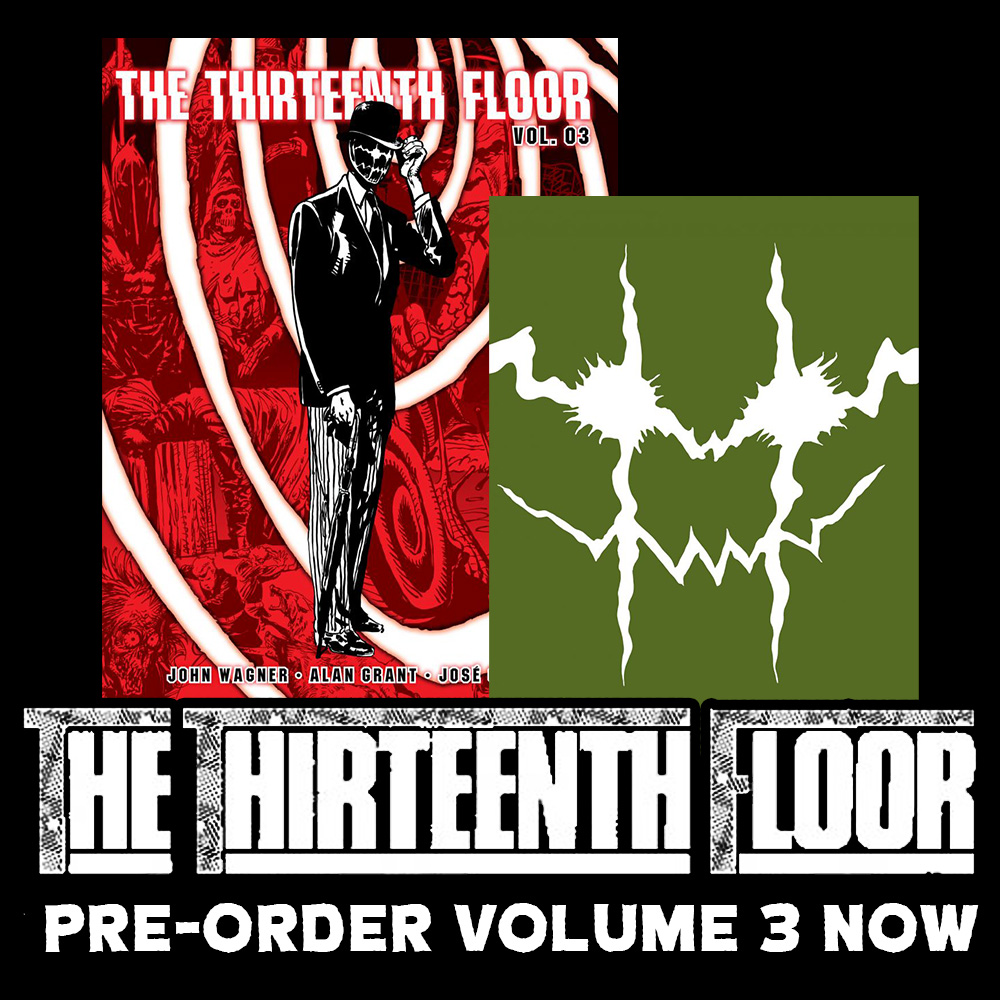 The horror classic concludes: pre-order The Thirteenth Floor Vol.3