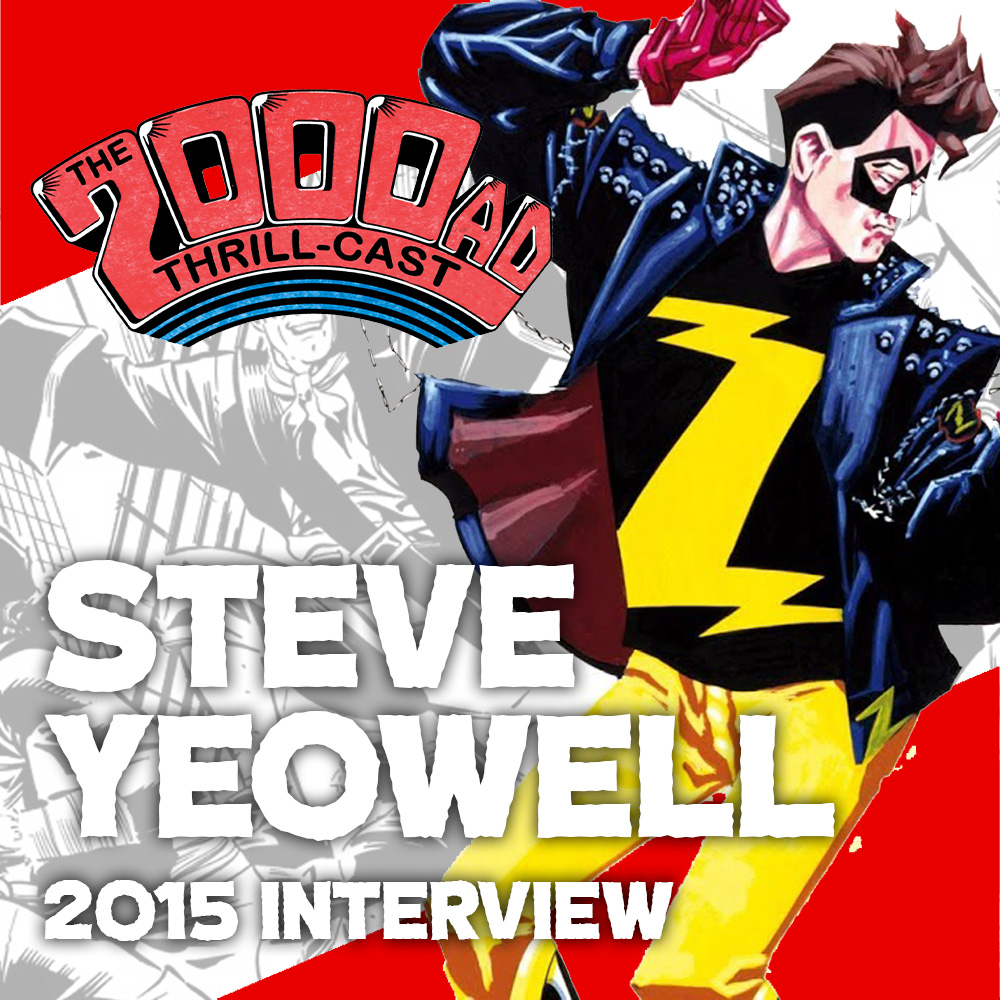 The 2000 AD Lockdown Tapes – Steve Yeowell (2015 interview)
