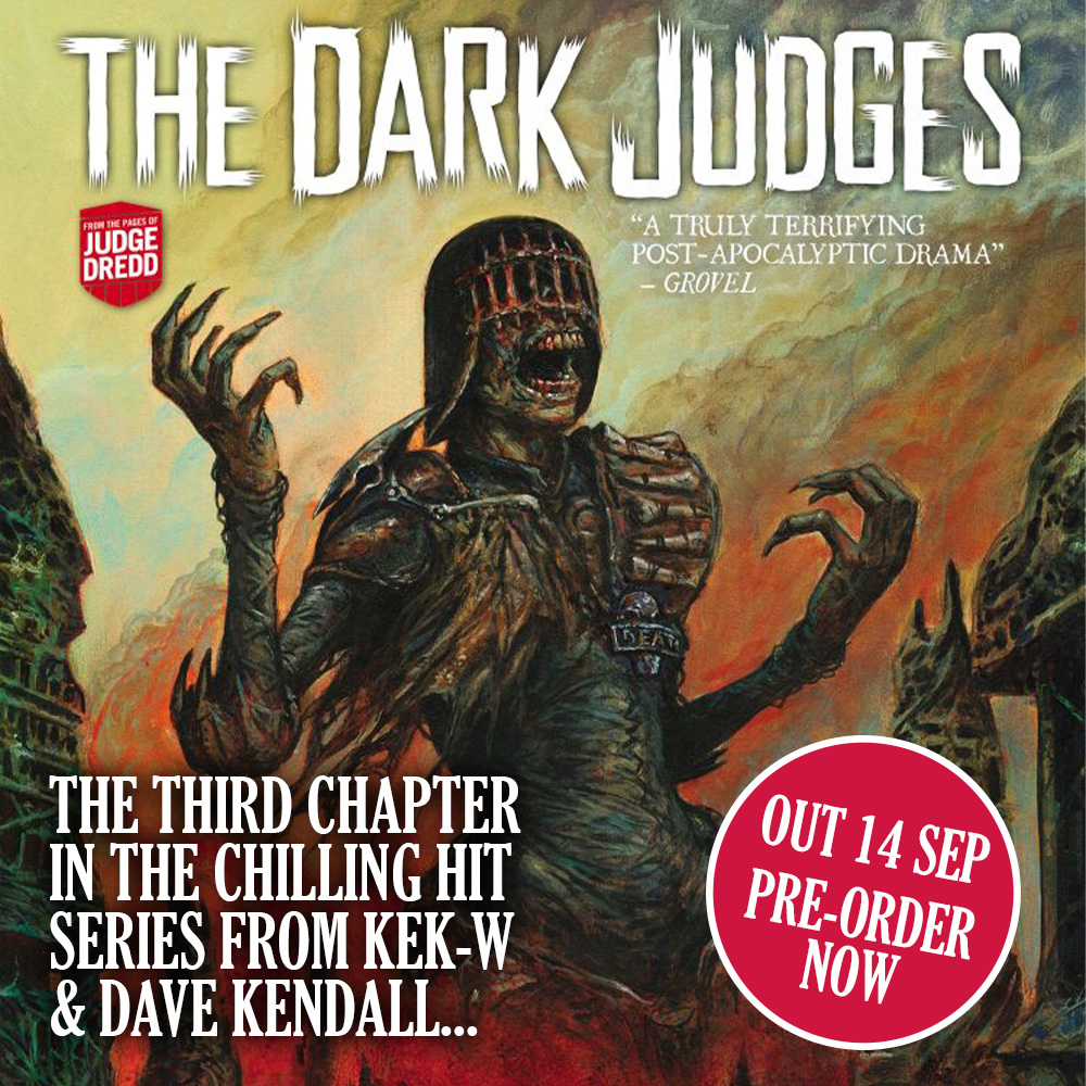 PRE-ORDER – Dark Judges: The Fall of Deadworld Book 3