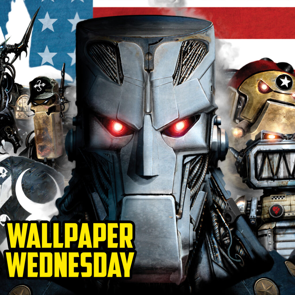 Spread the word – download the latest 2000 AD Wednesday wallpaper!