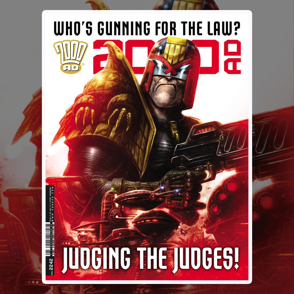2000 AD Prog 2242 is out now!