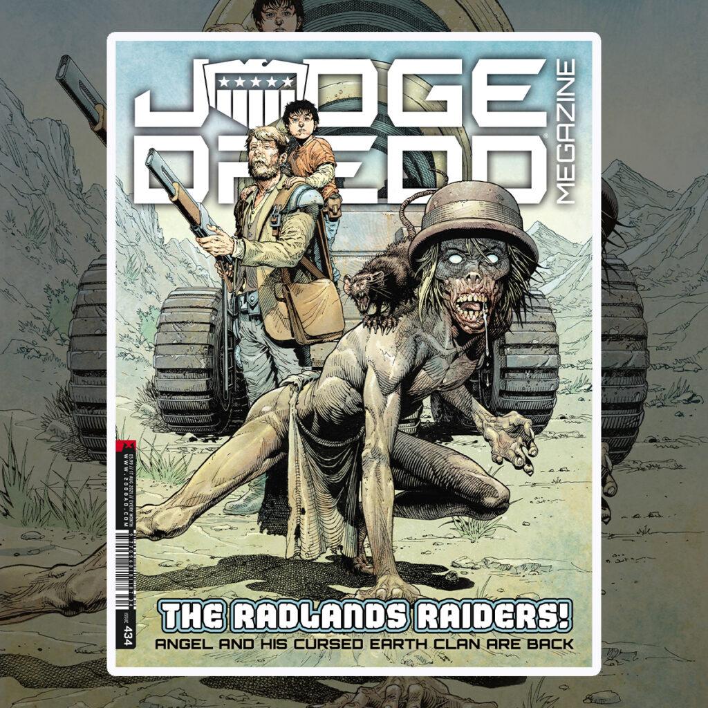 OUT NOW: Judge Dredd Megazine 434