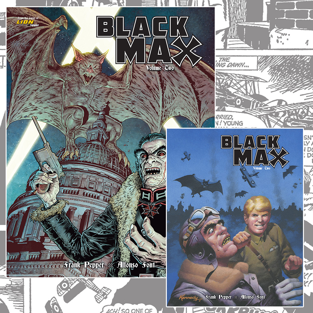 WWI aces and giant bats – keep watching the skies with Black Max Vol.2