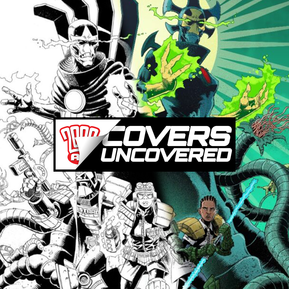 2000 AD Covers Uncovered – Dan Cornwell goes COSMIC with Department K!