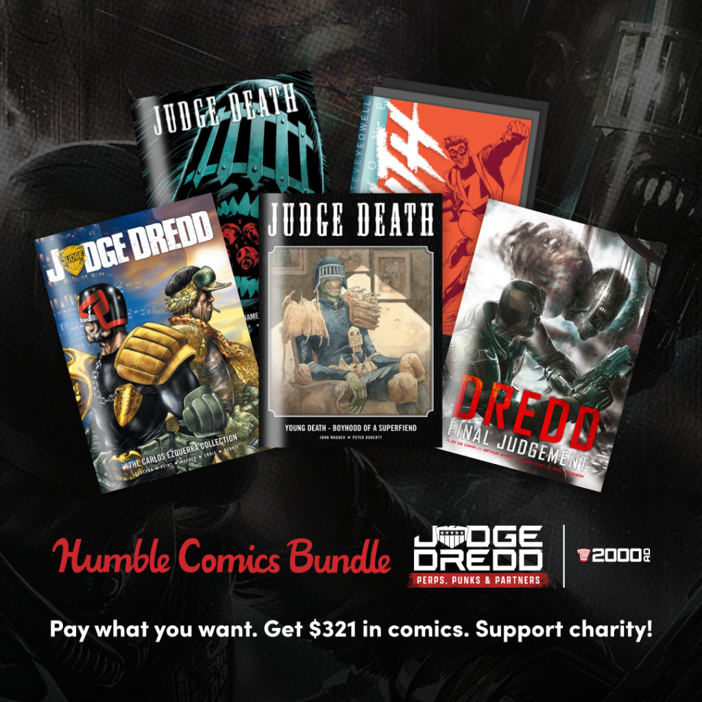 Read comics, support charity – get the new 2000 AD Humble Bundle deal!
