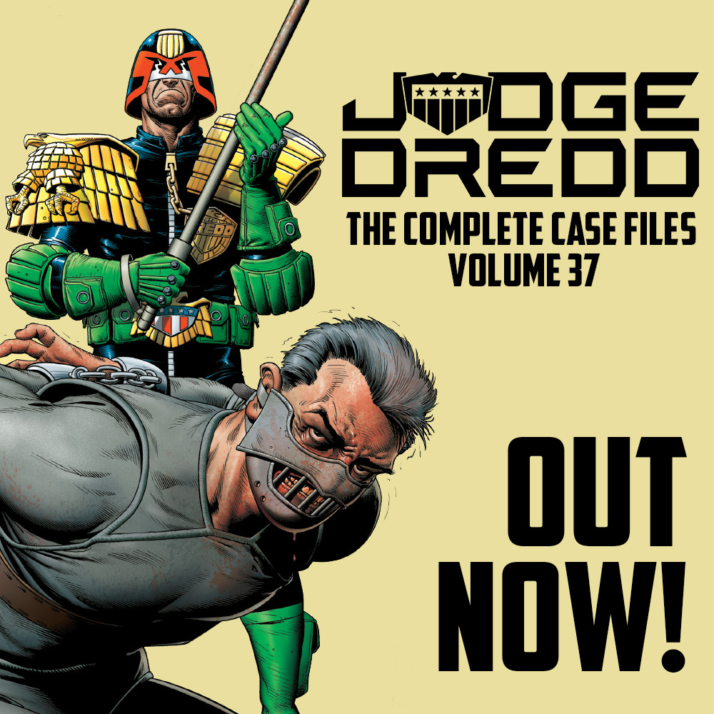 Orlok the Assassin on trial – Judge Dredd The Complete Case Files Vol.37 out now!