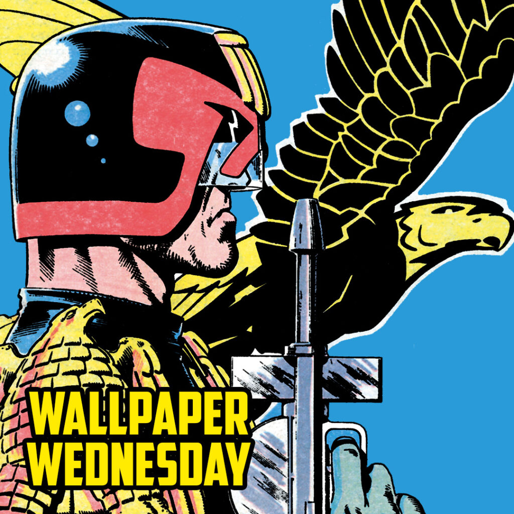 Download the Dredd-ful new 2000 AD Wednesday wallpaper!