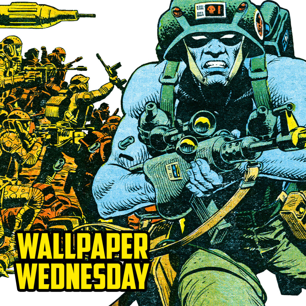 Stak! Download a free 2000 AD Wednesday wallpaper now!