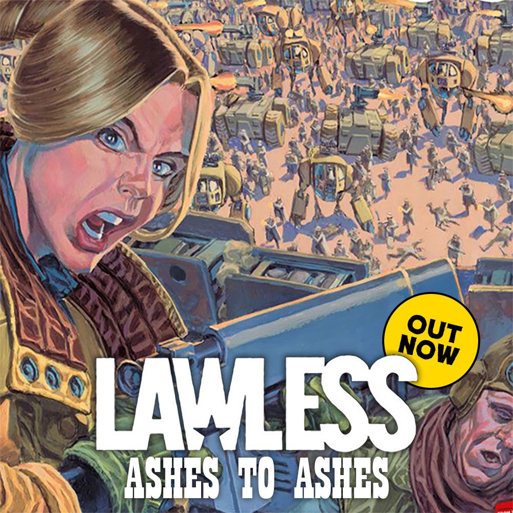 Dan Abnett & Phil Winslade's Lawless Vol.3 out now!