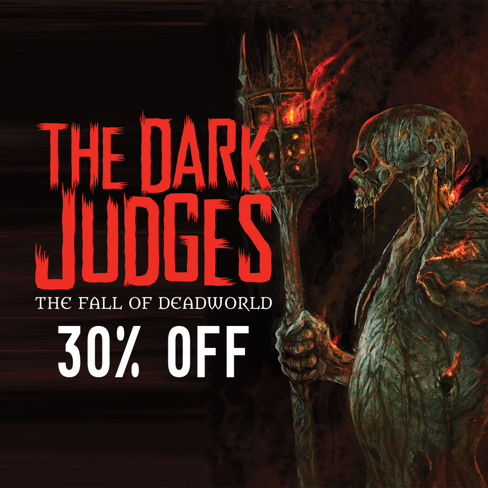 The rise of the Dark Judges – get 30% off The Fall of Deadworld