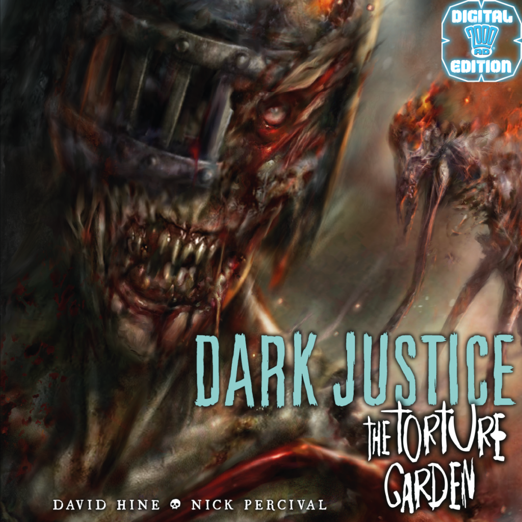 Preview: Dark Justice: Torture Garden by David Hine and Nick Percival