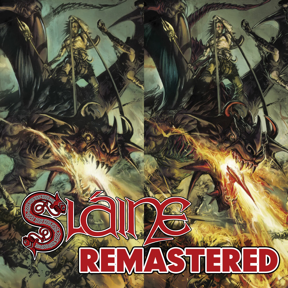 Sláine remastered: see Leo Manco's stunning new pages for 'Dragontamer' collection