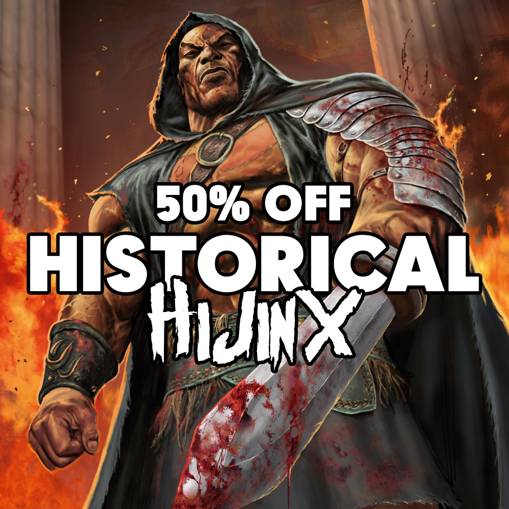 This wasn't the history they taught you in school – get 50% off alt-history collections!