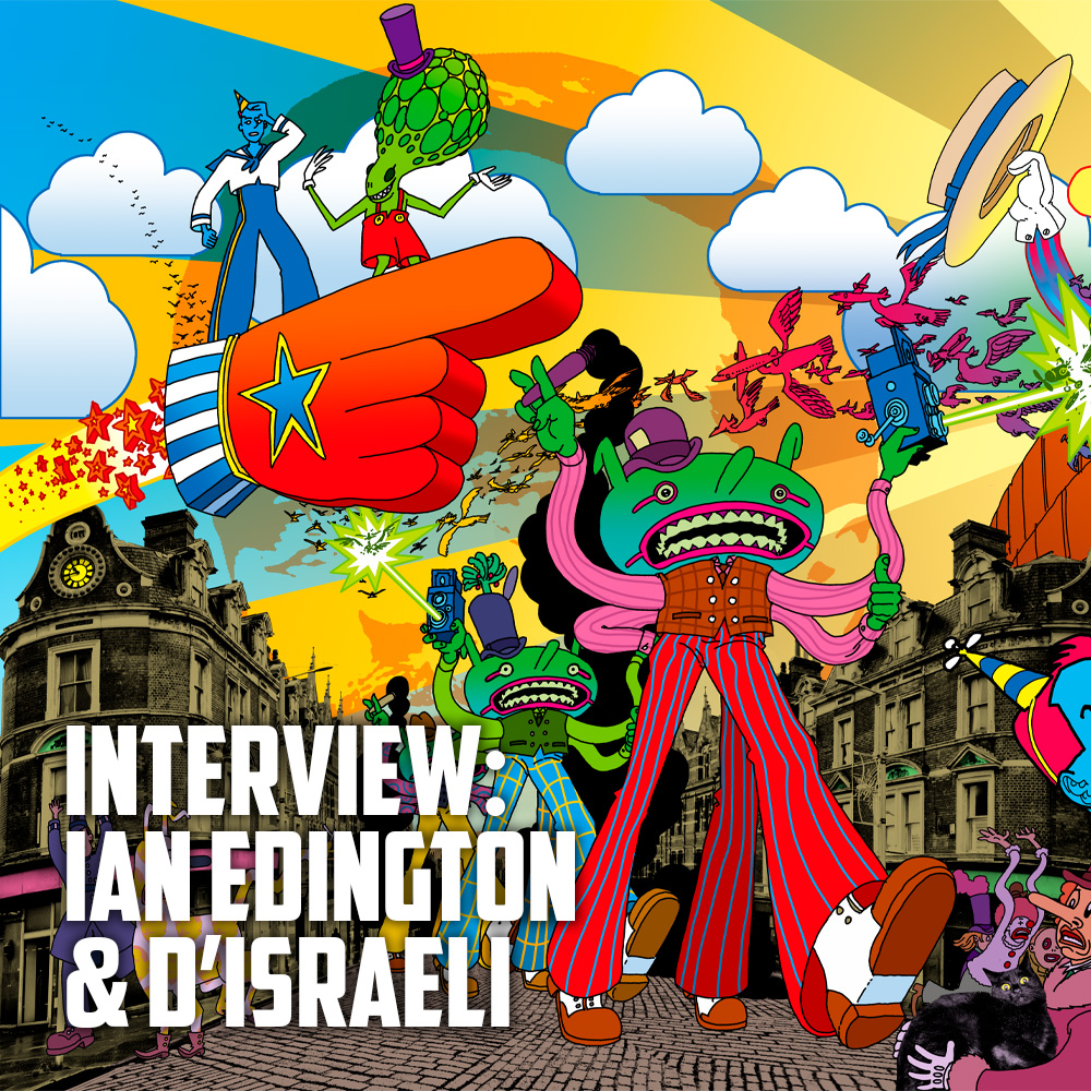 Interview: Ian Edginton & D'Israeli are at the Storm Front! Next stop – Jupiter!