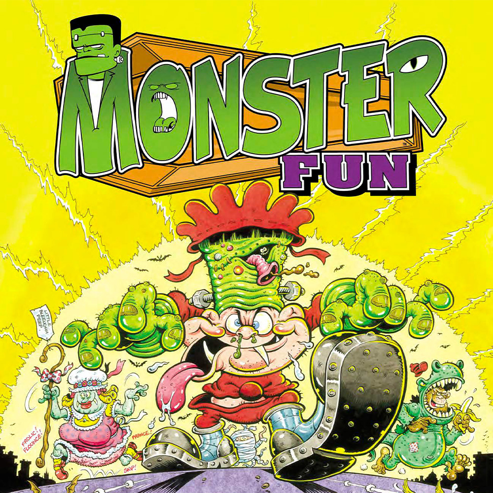 Rebellion announce 'Monster Fun' – Britain's newest on-going humour comic for kids!