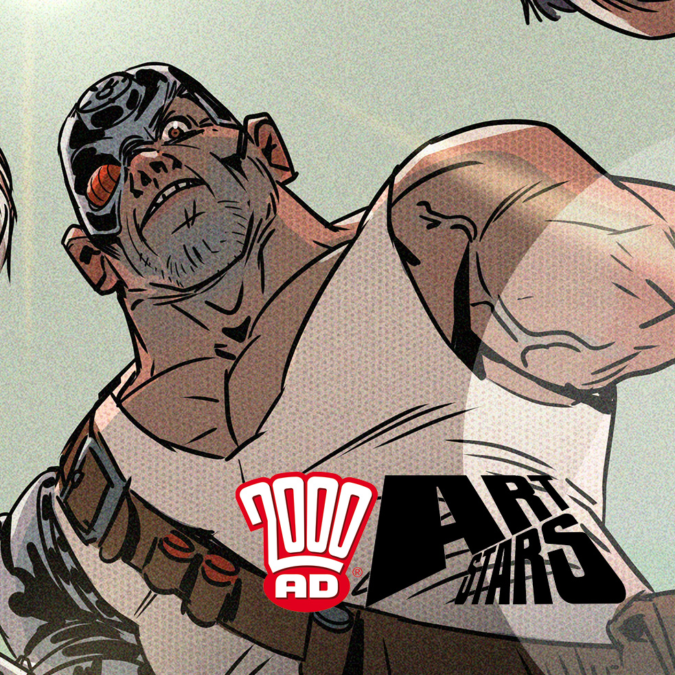 Who's won the latest 2000 AD Art Stars competition??
