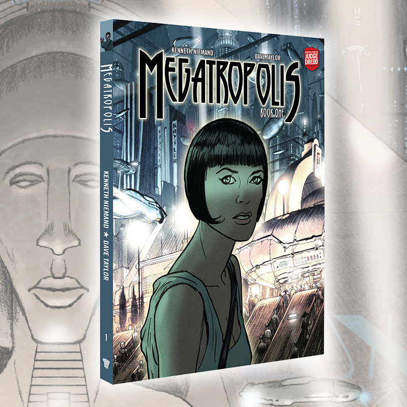 Mega-City One as you've never seen it before – Megatropolis is out now!