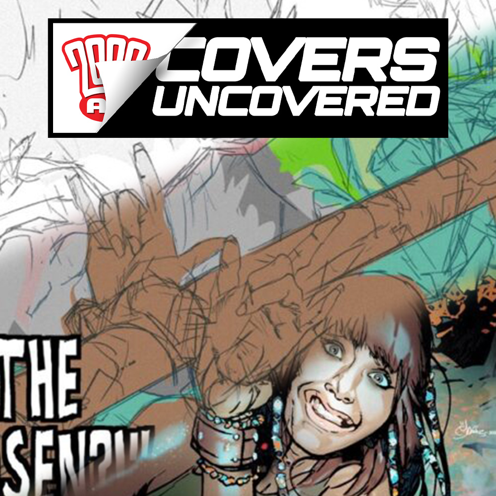 2000 AD Covers Uncovered – Mark Harrison brings Harryhausen to The Out for Prog 2254!