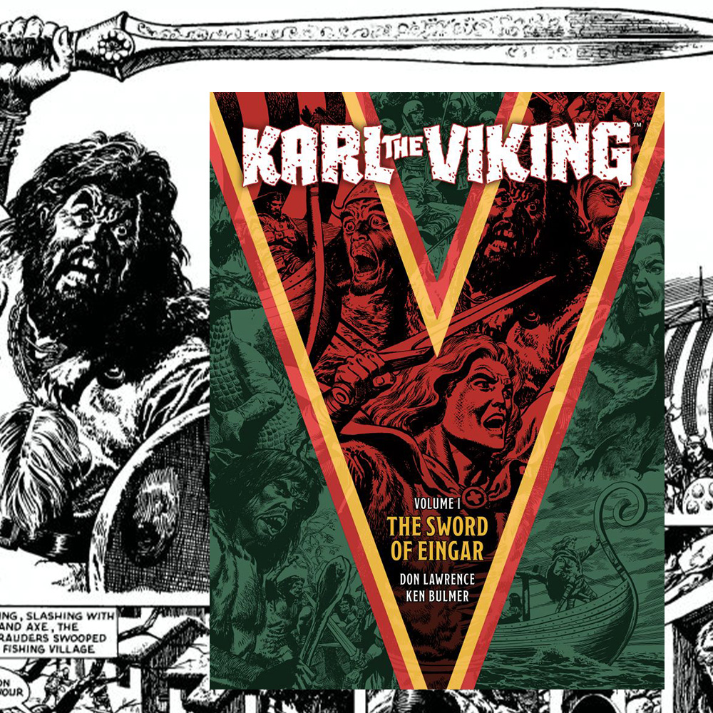 PRE-ORDER NOW: Don Lawrence's 'Karl the Viking'