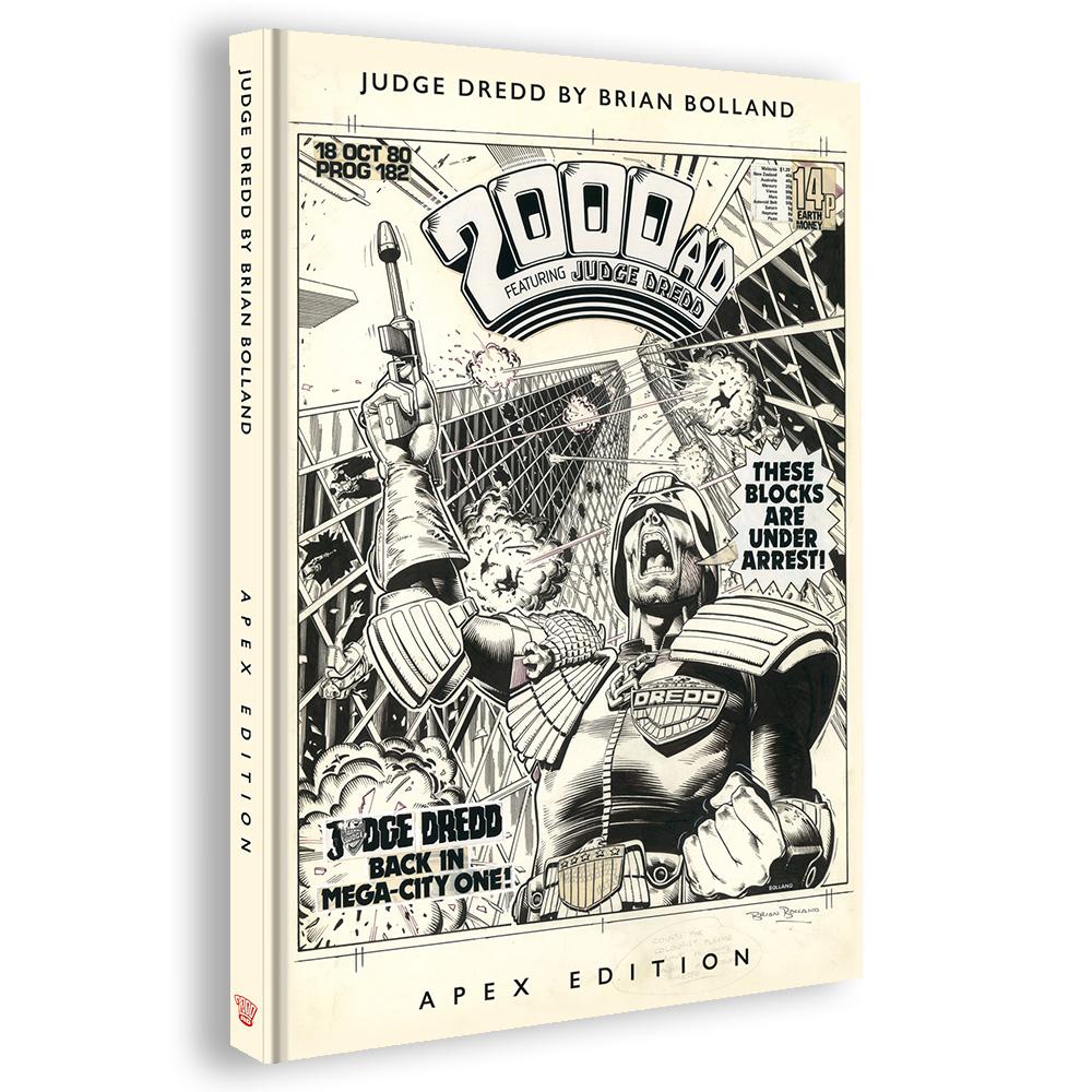 PRE-ORDER NOW: Judge Dredd by Brian Bolland: Apex Edition
