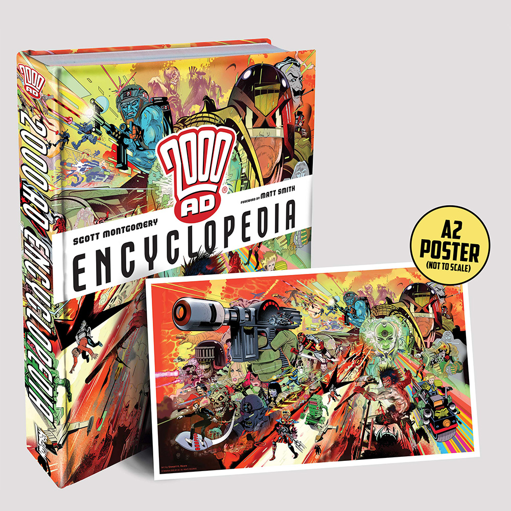 PRE-ORDER NOW: the 2000 AD Encyclopedia